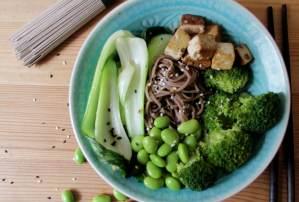 Green Soba Bowl