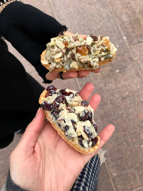 Süßkram in Warschau