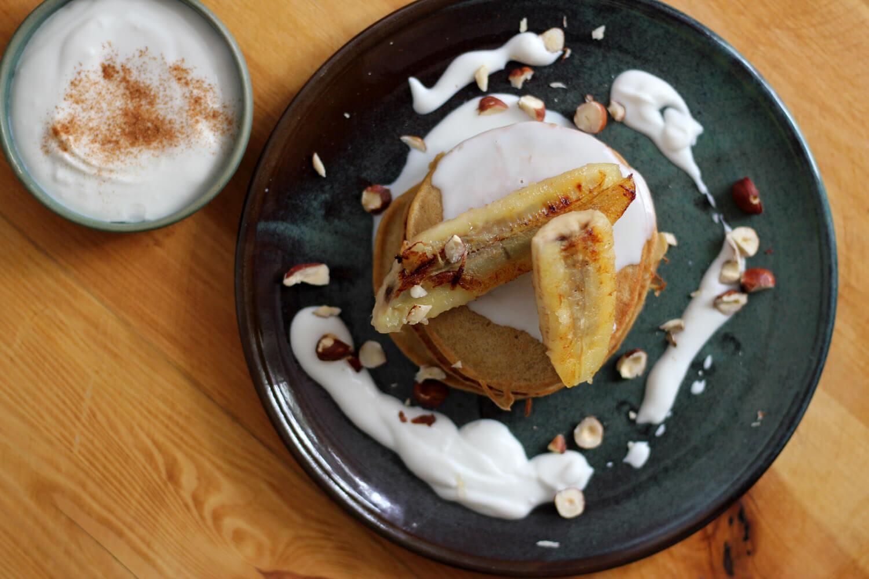 Buchweizen-Kürbis-Pancakes