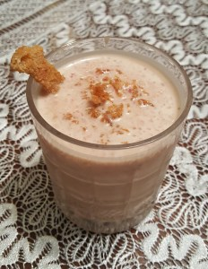 Candied Ginger and Smoothie