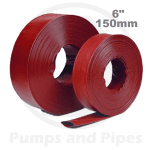 6 x 150mm red layflat