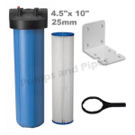 4.5inch x 10inch filter housing