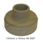 100mm thread x 50mm MIBSP
