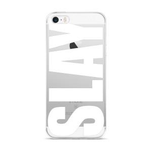 White Slay iPhone 5/5s/Se, 6/6s, 6/6s Plus Case