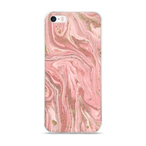 Pink Marble iPhone 5/5s/Se, 6/6s, 6/6s Plus Case
