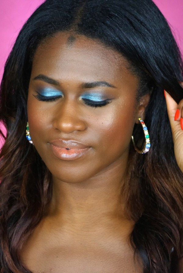 Bright Summer Teal Eye with IL MAKIAGE!