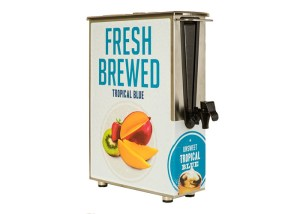 Ice tea dispenser