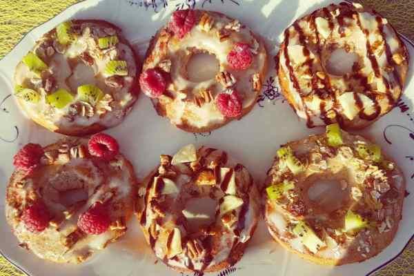 eiwitrijke donuts