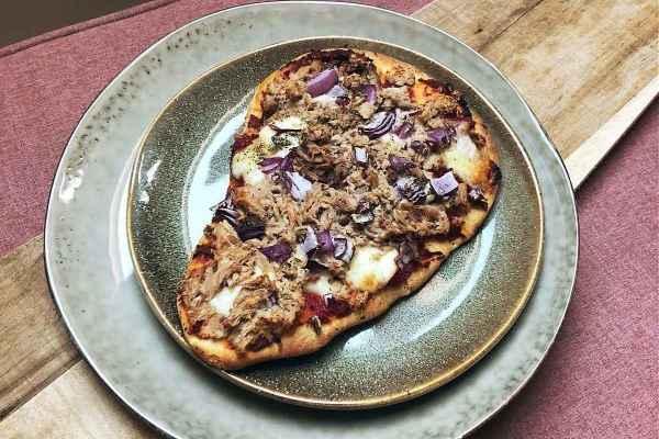 healthy pizza tonijn recept