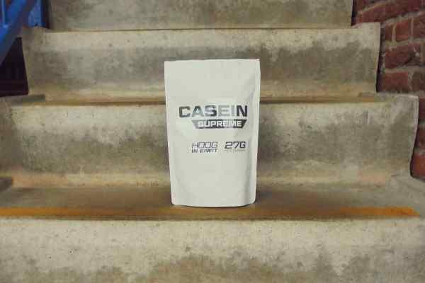 caseine supreme review eiwitten shake body supplies