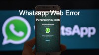 Whatsapp Web Error