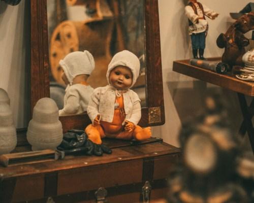 Детские игрушки викторианской эпохи