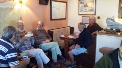 Locals enjoying our selection of local ales