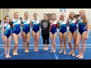 Challenge an Olympian | Shawn Johnson & SevenGymnasticsGirls