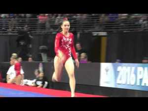 Shallon Olsen (CAN) - Vault 2 - 2016 Pacific Rim Championships Team/AA Final