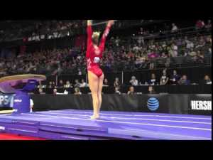 Brittany Rogers (CAN) - Vault 1 - 2016 Pacific Rim Championships Team/AA Final