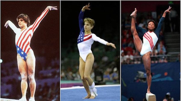 past us olympic leotards