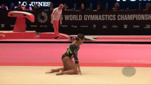 WILLIAMS Toni-Ann (JAM) - 2015 Artistic Worlds - Qualifications Floor Exercise
