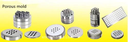 Figure 1-3 Turret punching perforated mold