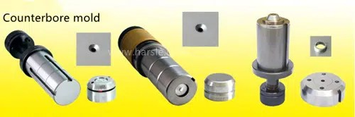 Figure 1-6 Turret punching counterbore mold