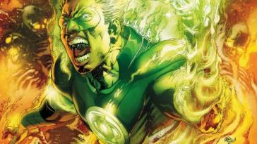 Green Lantern Comes Out of the Green Closet