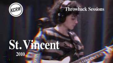 St.  Vincent – Full Performance – Live on KCRW, 2010