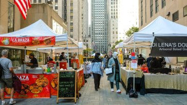 """Safe Outdoor Markets Can Serve As A Nostalgic Band-Aid For Now"": Queens Night Market Returns To Rock Center"