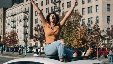 Photos: Euphoric New Yorkers Celebrate Biden's Defeat Of Trump