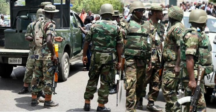 Image result for Military arrests militant for killing five operatives