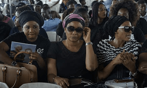 Image result for PHOTOS: Memorial Service for Moji Olaiya
