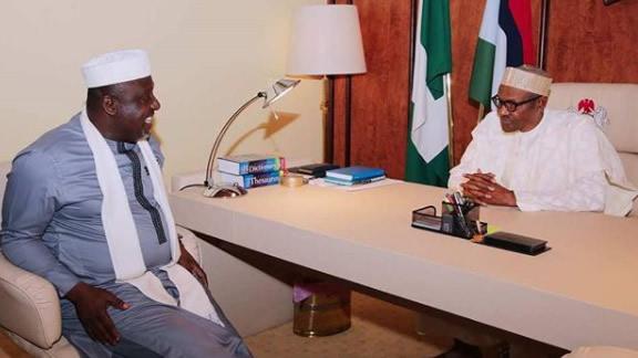Image result for Okorocha endorses Buhari for re-election bid