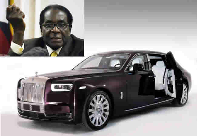 Image result for Mugabe amassed $1bn – including a rare Rolls-Royce worth more than Zimbabwe's economy