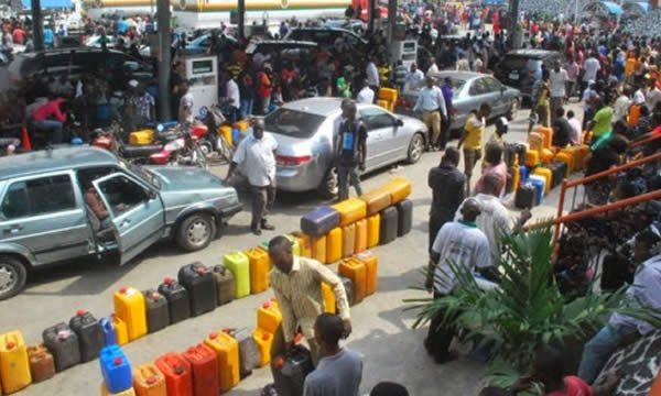 Image result for FUEL SCARCITY IN LAGOS