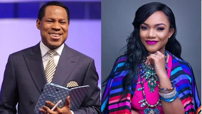 Image result for Pastor Oyakhilome gives gospel singer, Ada Ehi, new SUV
