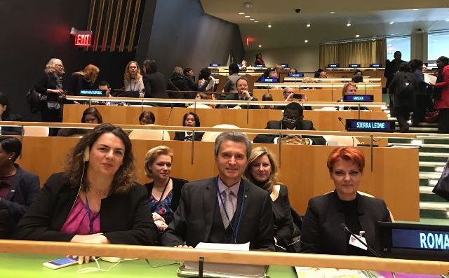 Olguța Vasilescu, alocuțiune în cadrul Consiliului de Securitate al ONU