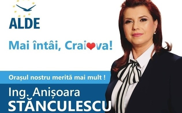 Anișoara Stănculescu: Orașul nostru merită mai mult