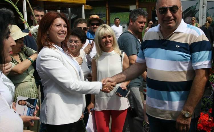 Anișoara Stănculescu, încurajată de fostul primar Antonie Solomon