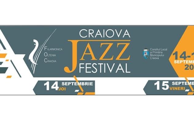 Craiova Jazz Festival , 14 -17 septembrie 2017,  4 zile de concerte şi evenimente