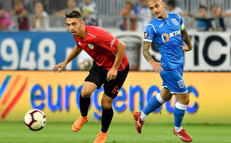 Craiova-Chiajna 0-1. Mangia: Am jucat foarte bine timp de 70 de minute. Mitriță pe acest gazon nu poate controla balonul