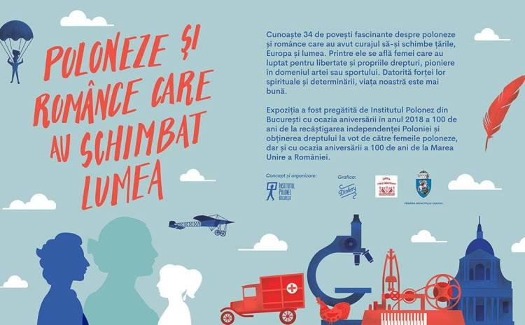 Expoziție: Poloneze și românce care au schimbat lumea