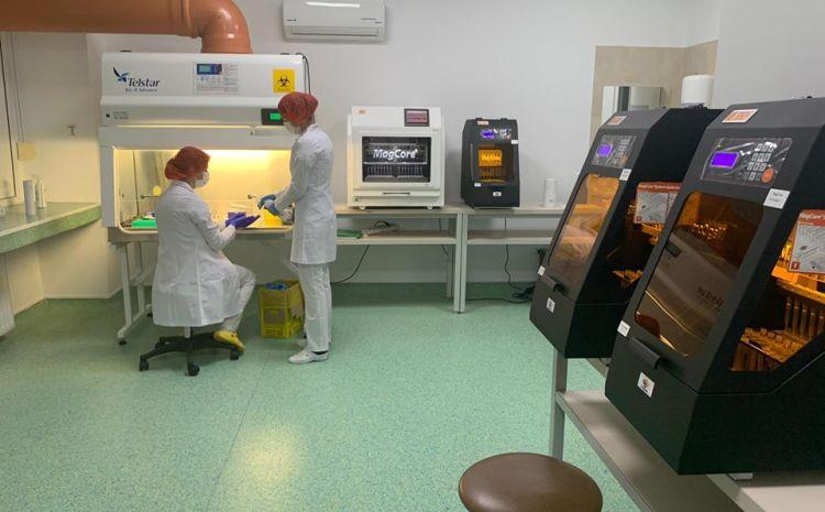 1000 de teste prelucrate la Craiova de la începutul epidemiei. 260 au fost efectuate săptămâna aceasta.