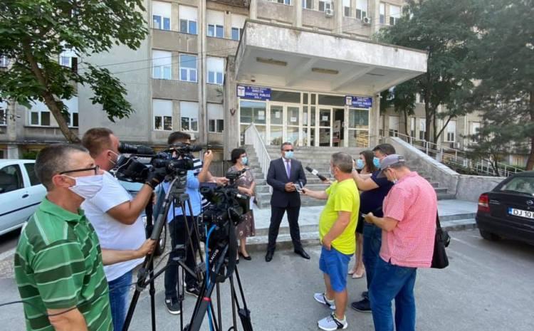 17 focare active la nivelul județului DOLJ/ Peste 180 de persoane internate în spitalele din Craiova
