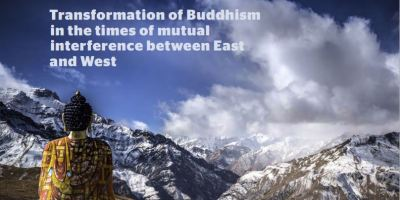 Transformation of Buddhism photograph.