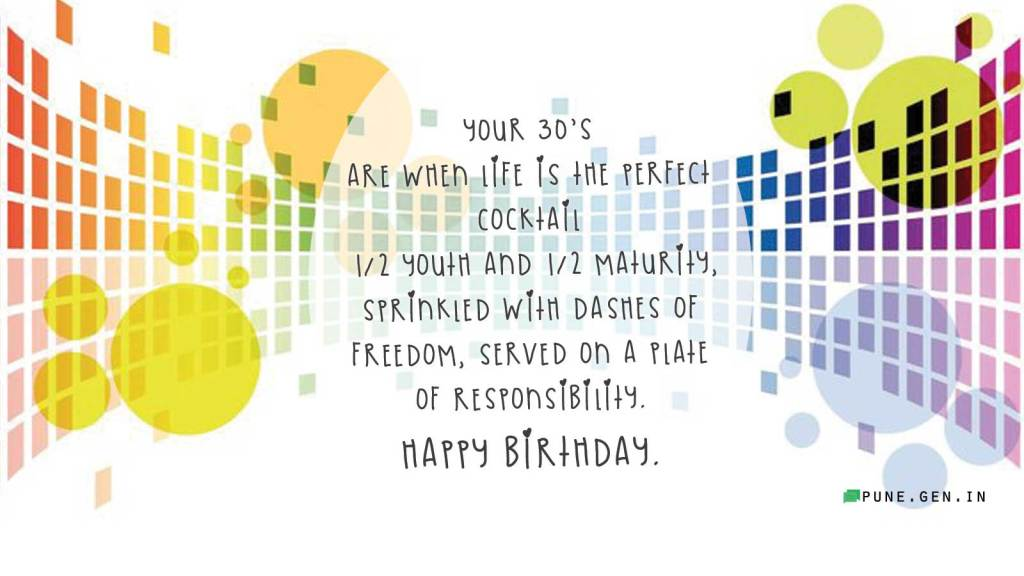 35th Birthday Wishes Quotes And Messages Wishes Messages Pune