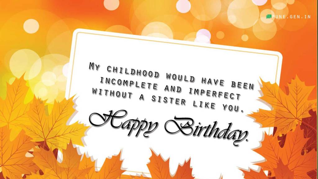 Birthday wishes for sister quotes and messages wishes messages cute birthday greeting card for sister m4hsunfo