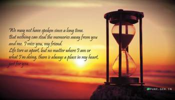 I Miss You Messages for Friends: Missing You Quotes - Wishes