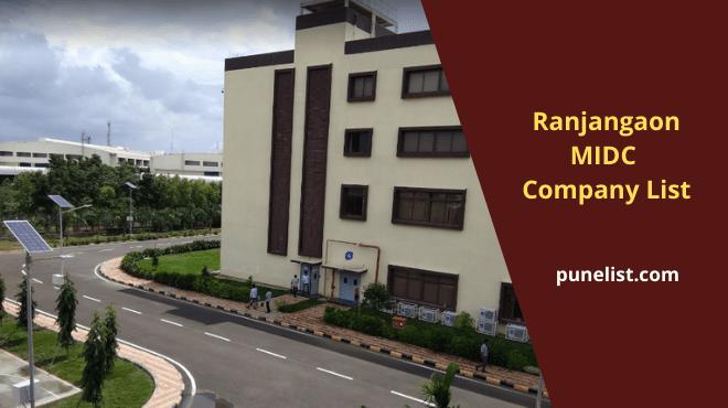 ranjangaon-midc-companies-list