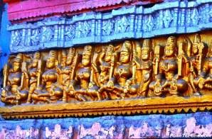 Matrikas at Aundha Nagnath Temple Entrance