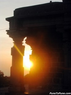 Sunset at Bhuleshwar