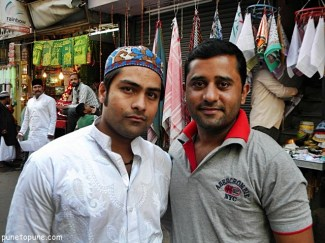 Friend at Dargah Market